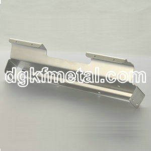 Sheet metal aluminum bracket