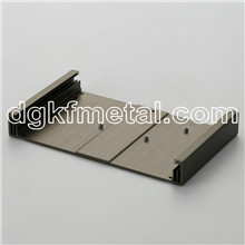 MC Aluminum extrusions profile chassis w/fins ea controller