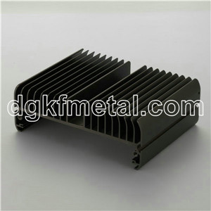 customized aluminum bottom cover heat sink